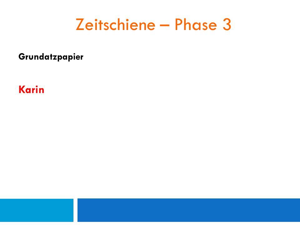 Zeitschiene – Phase 3 Grundatzpapier Karin