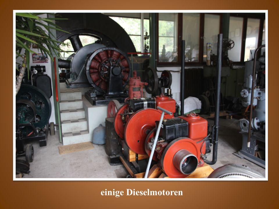 einige Dieselmotoren
