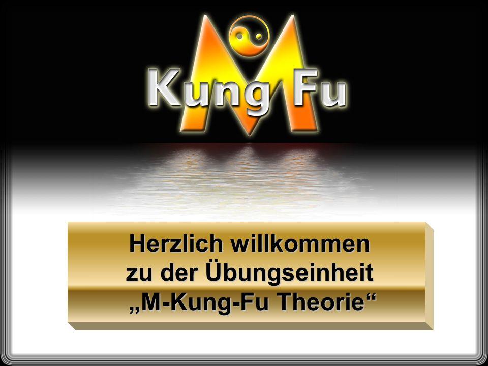 """Herzlich willkommen zu der Übungseinheit """"M-Kung-Fu Theorie"""