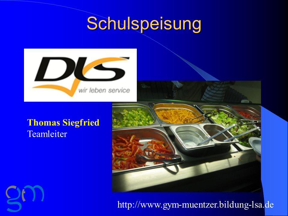 Schulspeisung Thomas Siegfried Teamleiter
