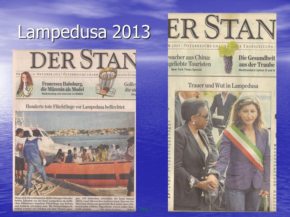 16.10.2013Seite 3 UBA-Vision 2004 © Gilbert Ahamer Lampedusa 2013