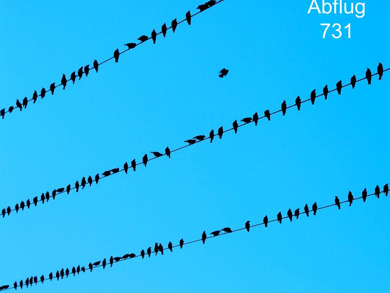 Abflug 731