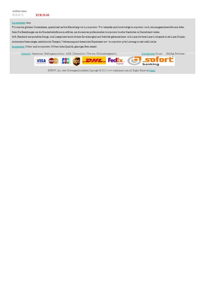 StartseiteStartseite | Impressum | Haftungsausschluss | AGB | Datenschutz | Über uns | Rücknahmegarantie || KontaktierenKontaktieren Sie uns|| Häufige Probleme | HTPOW, Inc.