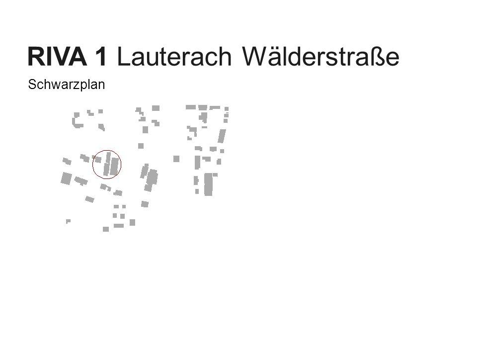 Businessplan 2007 – Juli 04| J. Moosbrugger RIVA 1 Lauterach Wälderstraße Schwarzplan