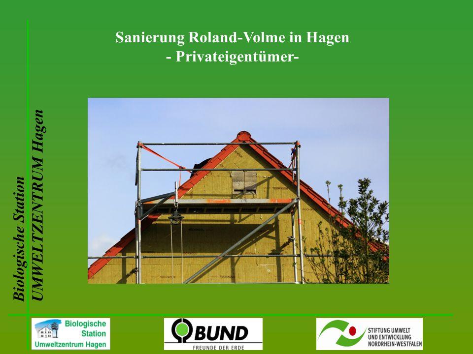 Biologische Station UMWELTZENTRUM Hagen Sanierung Roland-Volme in Hagen - Privateigentümer-