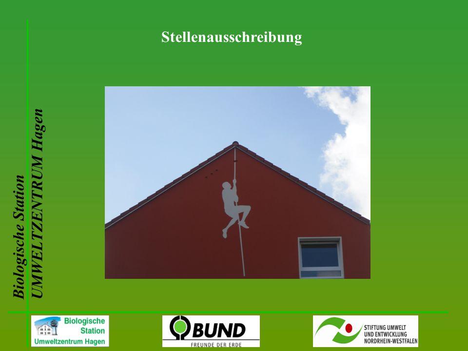 Biologische Station UMWELTZENTRUM Hagen Stellenausschreibung