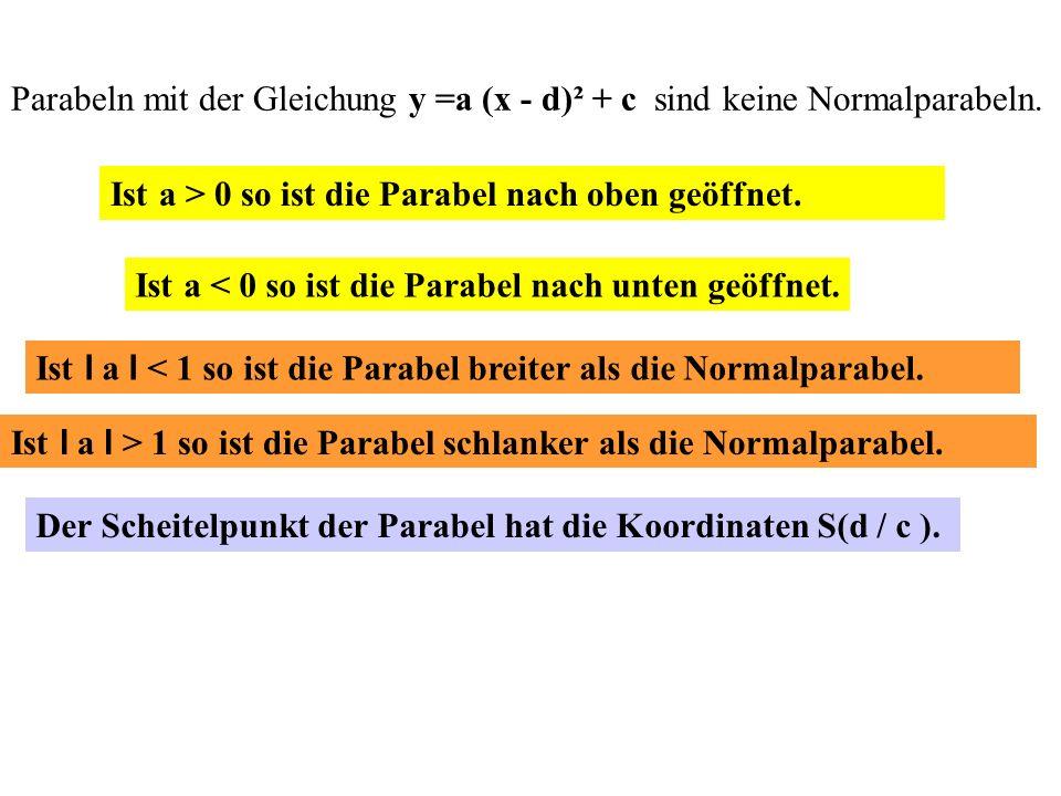Schnittpunkte zwischen b und f : x² + 8x + 10 = - 2x – 6 | + 2x und | + 6 x² + 10x + 16 = 0 ; x 1/2 = - 10/2 ±  10²/4 - 16 x 1 = - 8 ; x 2 = - 2 ; al