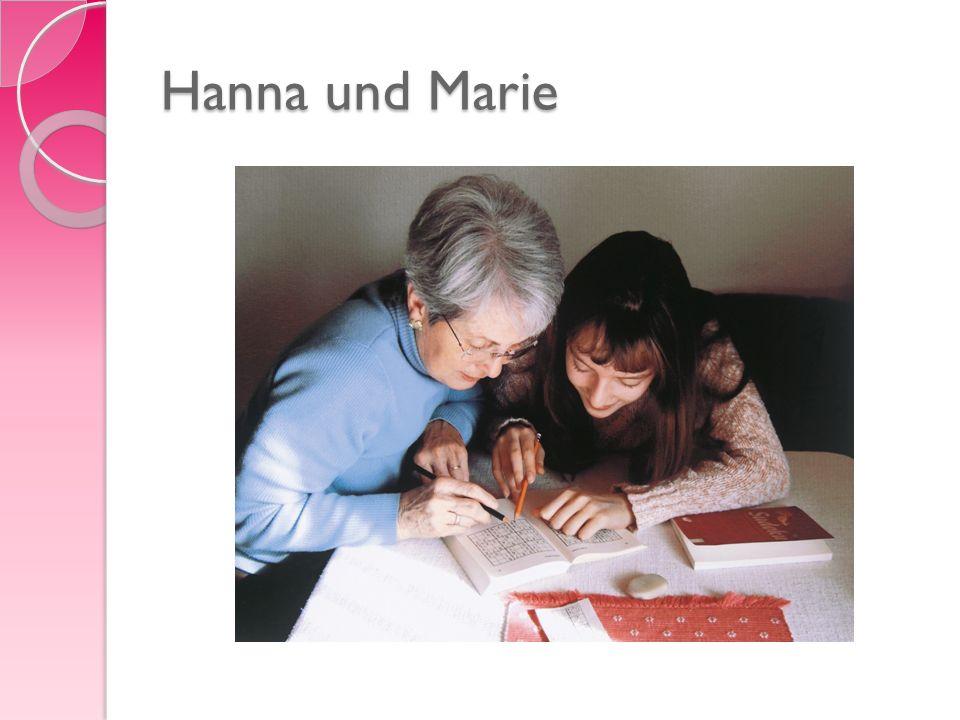 Hanna und Marie