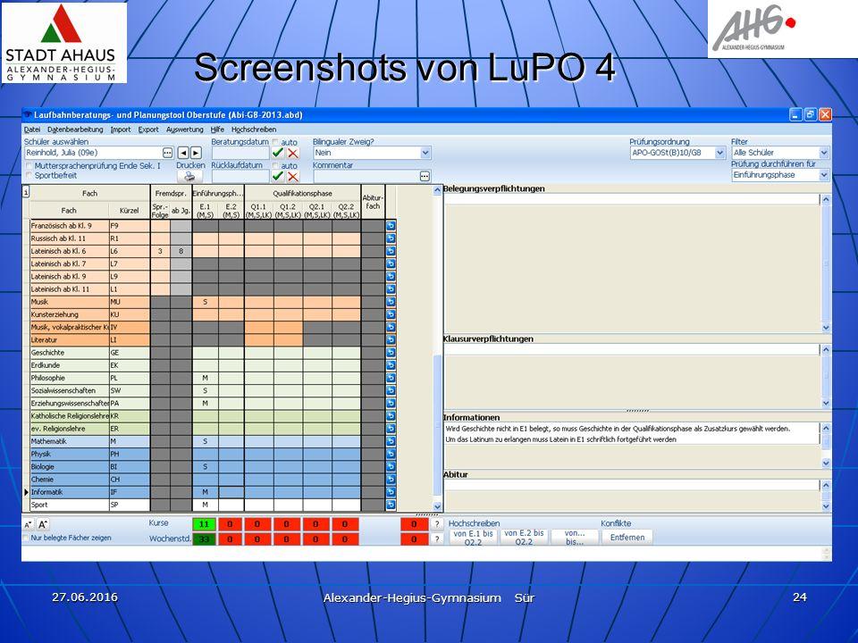 27.06.2016 Alexander-Hegius-Gymnasium Sür 24 Screenshots von LuPO 4