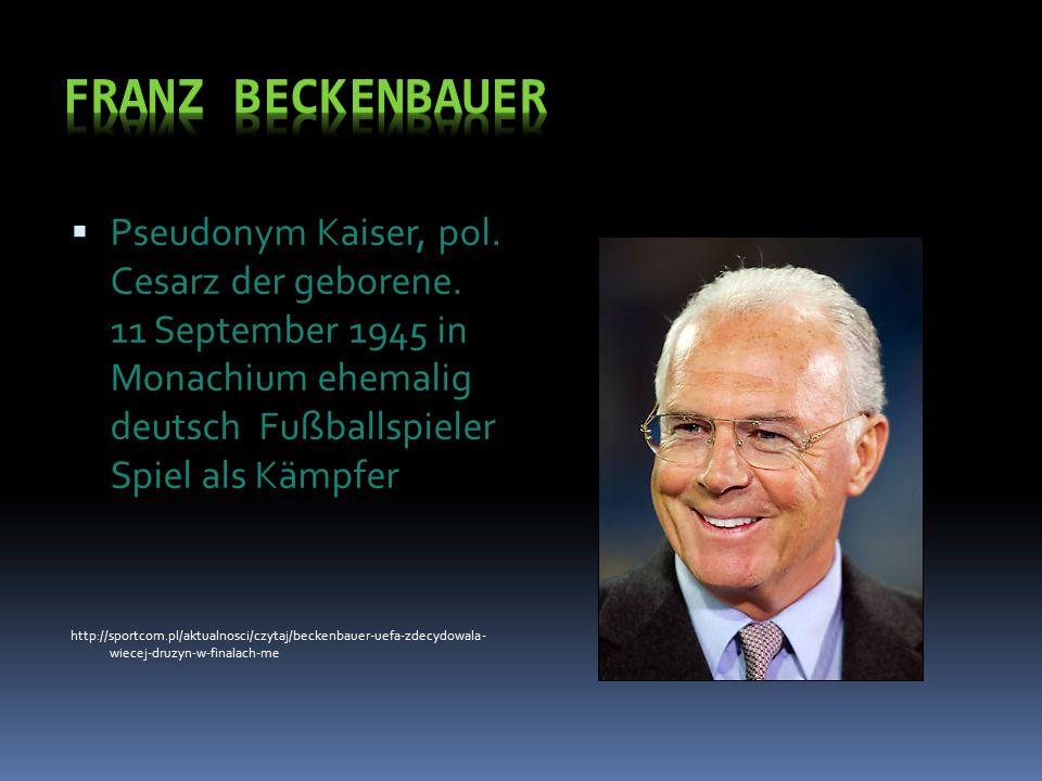  Pseudonym Kaiser, pol. Cesarz der geborene.