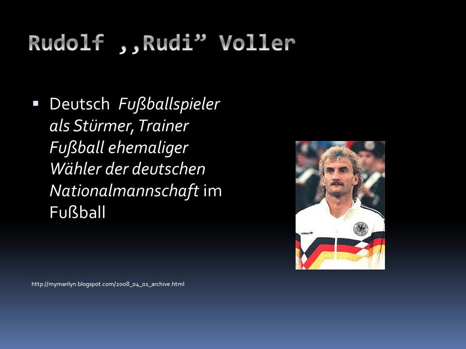  Deutsch Fußballspieler als Stürmer, Trainer Fußball ehemaliger Wähler der deutschen Nationalmannschaft im Fußball http://mymarilyn.blogspot.com/2008_04_01_archive.html