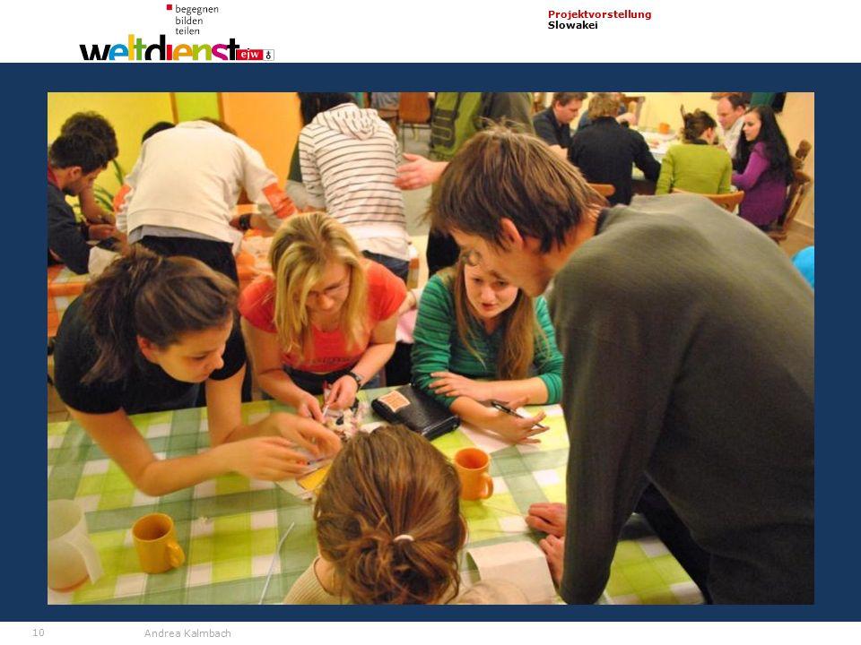 10 Projektvorstellung Slowakei Andrea Kalmbach