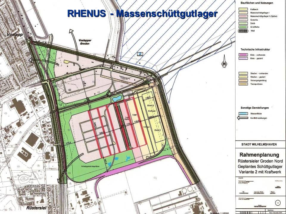 RHENUS - Massenschüttgutlager