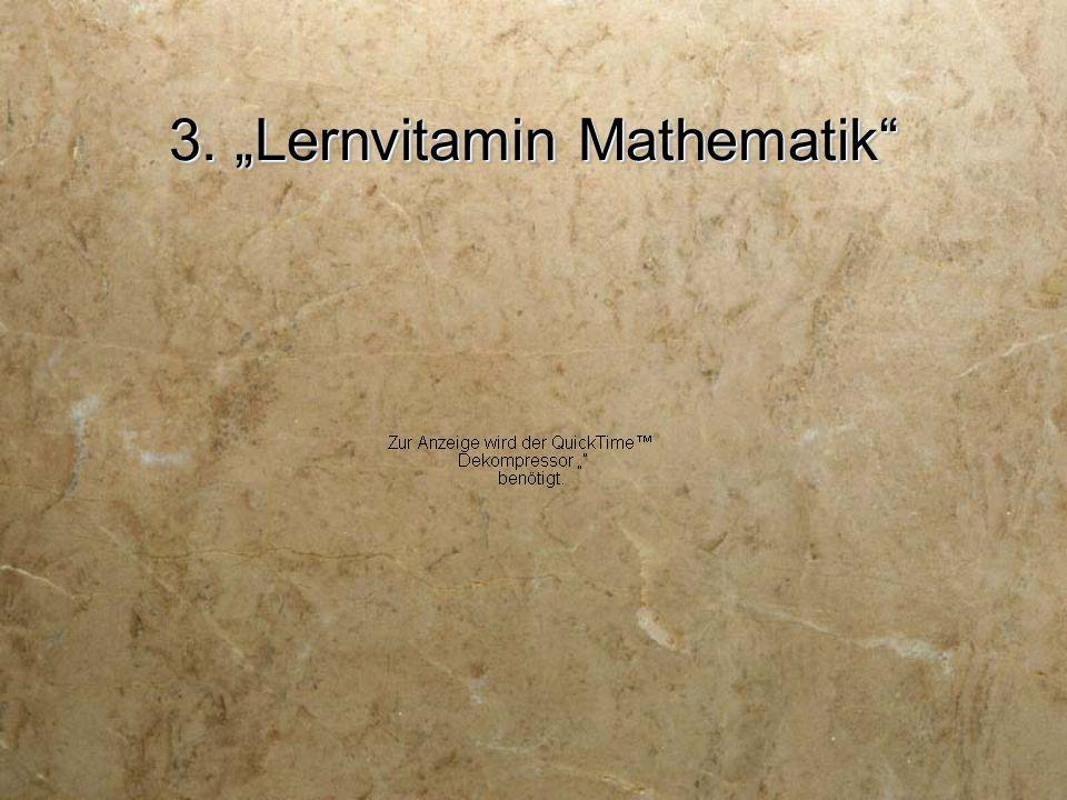 "3. ""Lernvitamin Mathematik"