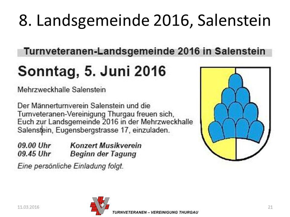8. Landsgemeinde 2016, Salenstein 11.03.201621