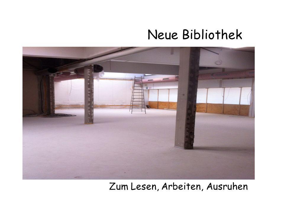 Neue Bibliothek Zum Lesen, Arbeiten, Ausruhen