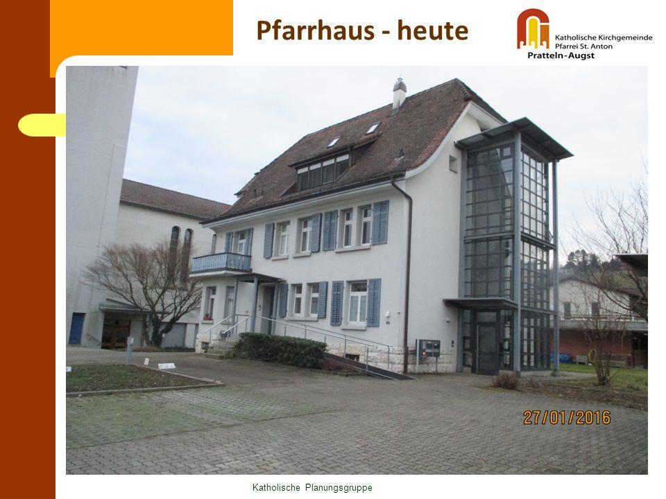Pfarrhaus - heute