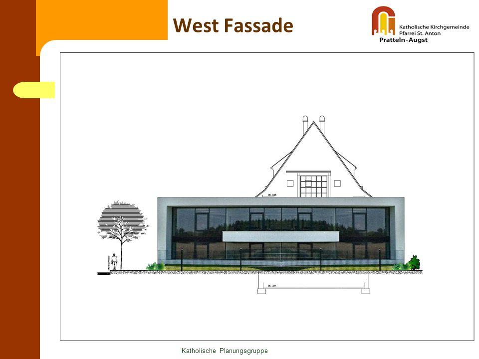 Katholische Planungsgruppe West Fassade