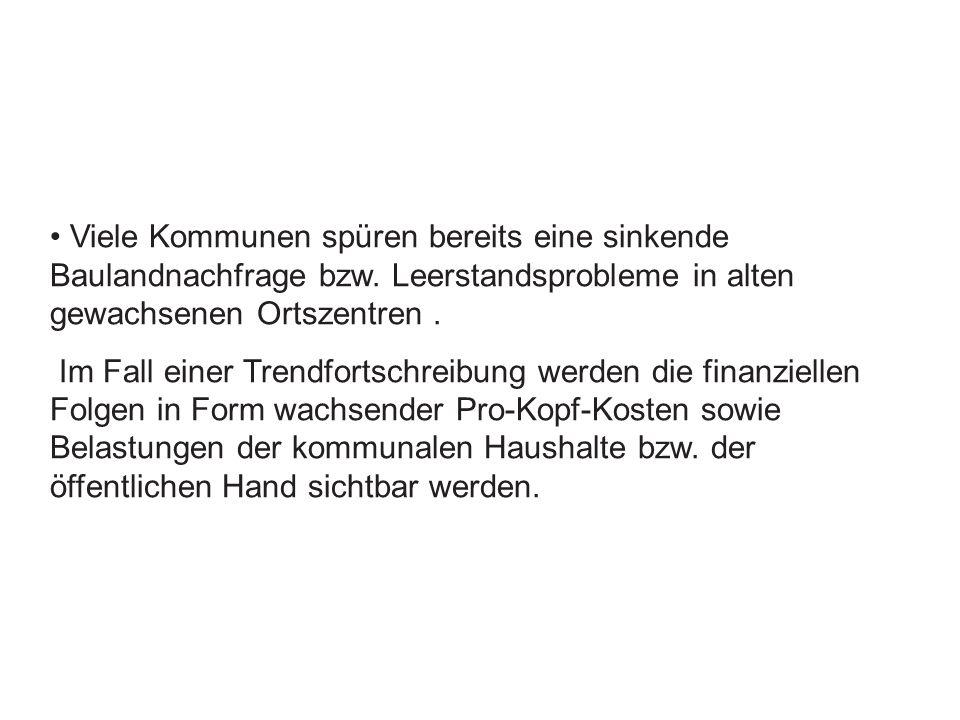 Brachflächenbestand in Deutschland mindestens 150 000 Hektar