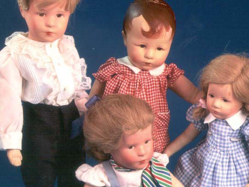 Große Bestellungen aus Amerika veranlassten Käthe Kruse schließlich, ihre Puppenproduktion zu professionalisieren.