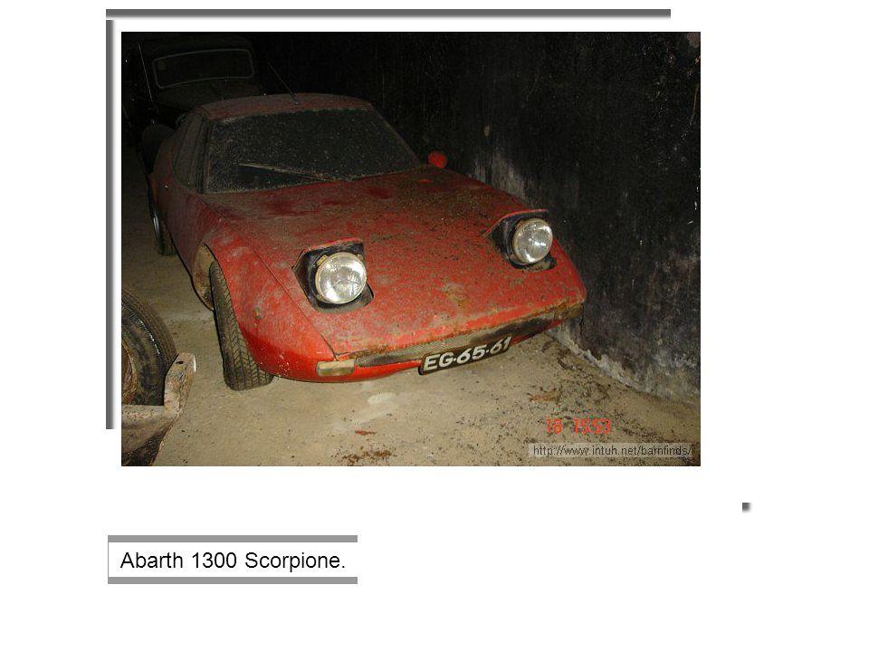 Abarth 1300 Scorpione.