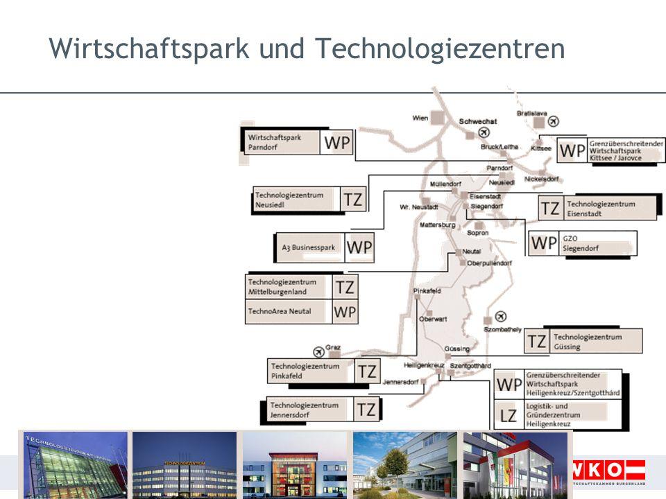 9 Wirtschaftspark und Technologiezentren
