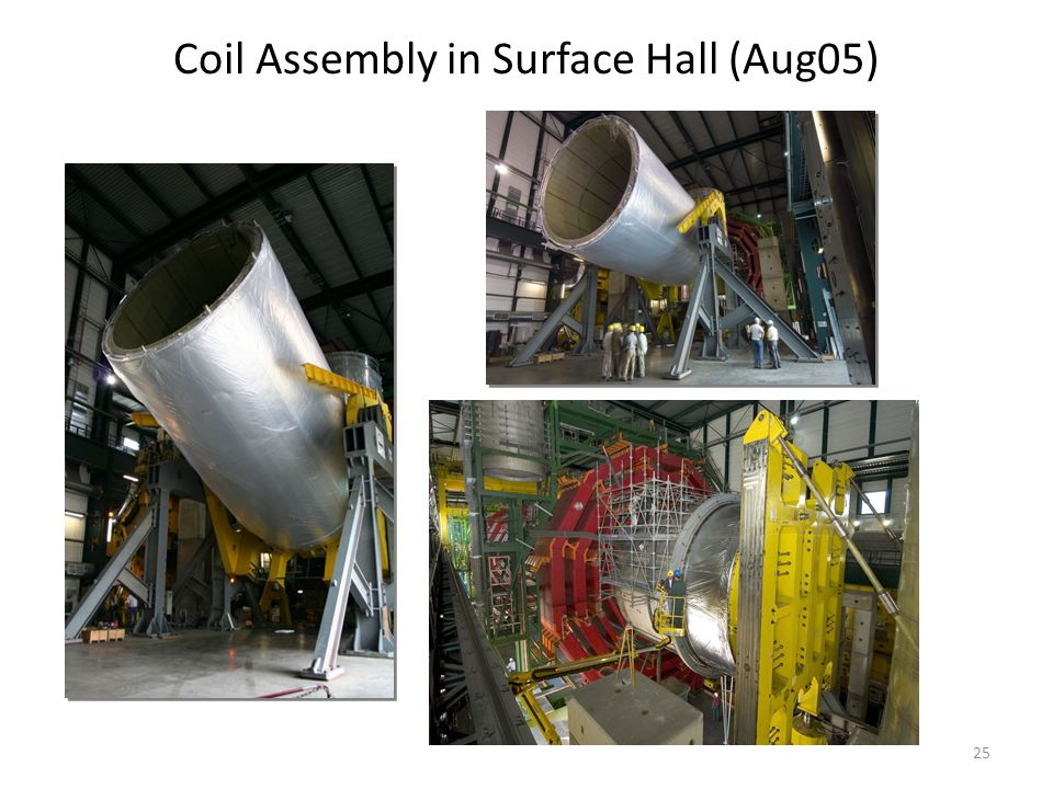 25 Coil Assembly in Surface Hall (Aug05)