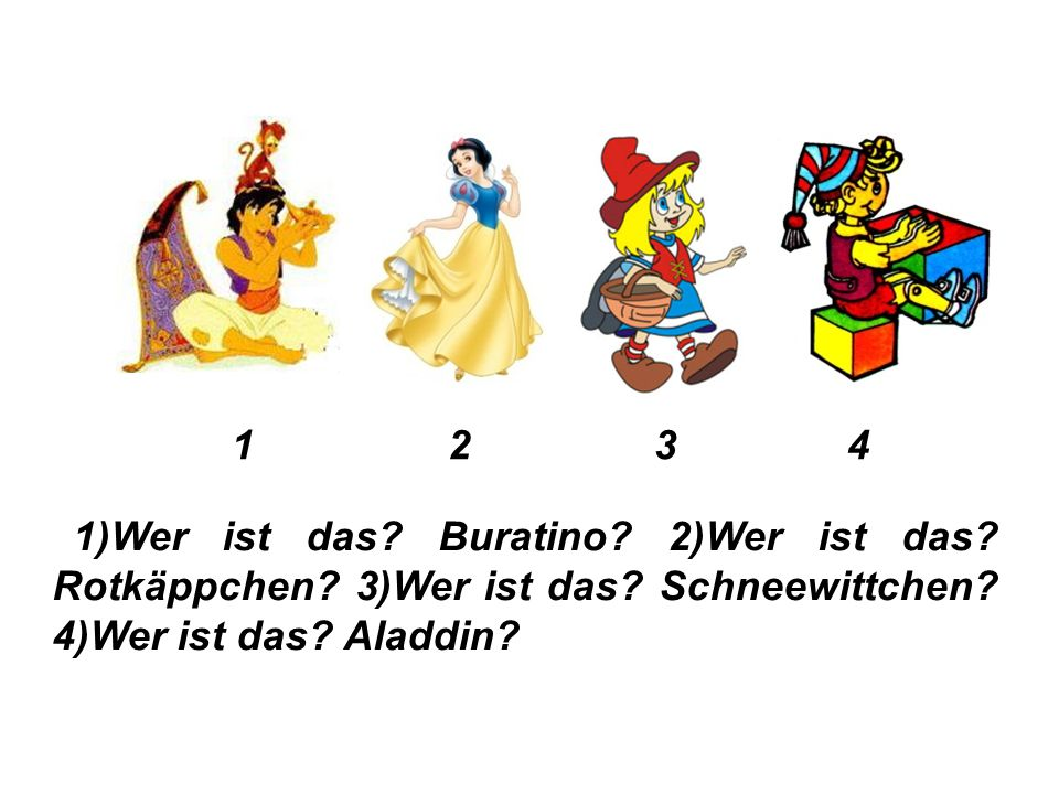 Übung 8. Ответь на вопросы, как в образце: Wer ist das.