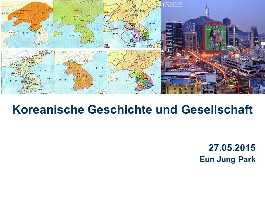 22 Koreanische Geschichte und Gesellschaft | Evangelische Stadtakademie Bochum |Eun Jung Park | 27.