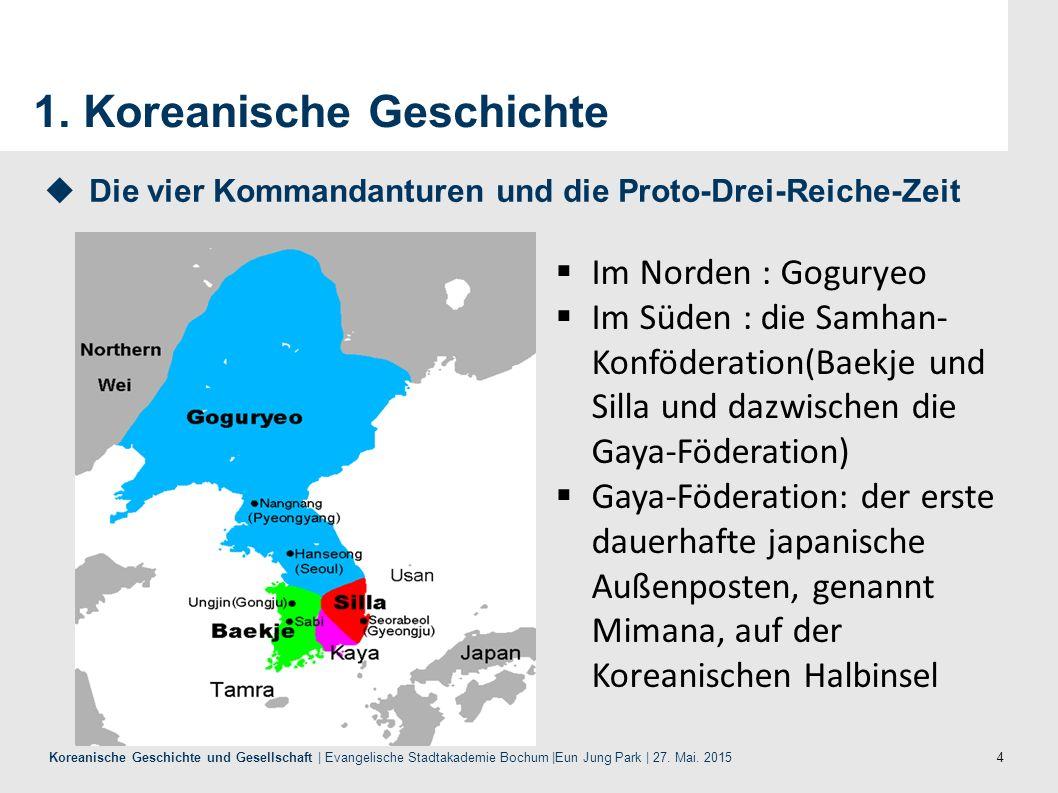 5 Koreanische Geschichte und Gesellschaft | Evangelische Stadtakademie Bochum |Eun Jung Park | 27.