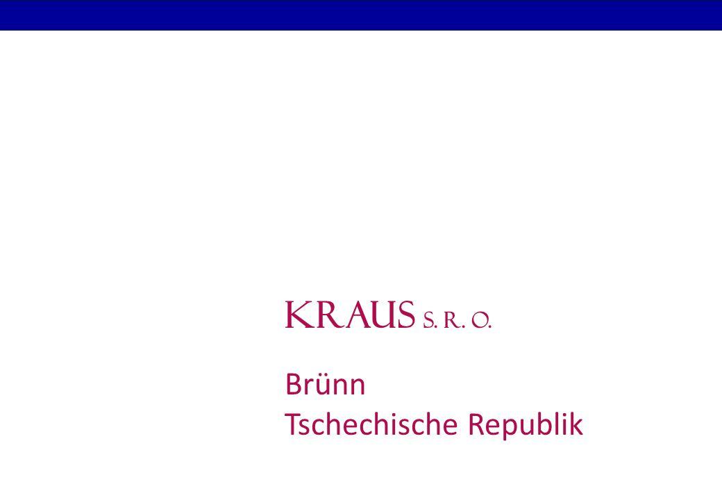 K R A U S s.r. o. Wer sind wir. Firmensitz Deutschland: Dr.