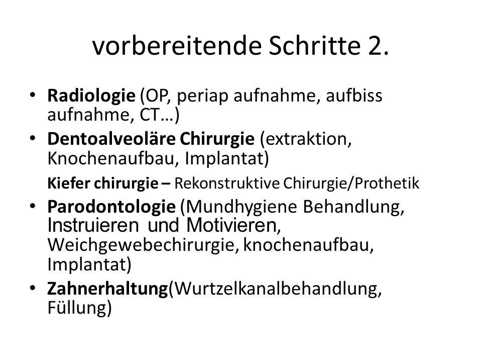 Total Prothese K:Anatomische Abformung L:Anatomische Model K:Anzeichnen die Grenzen des Ind.