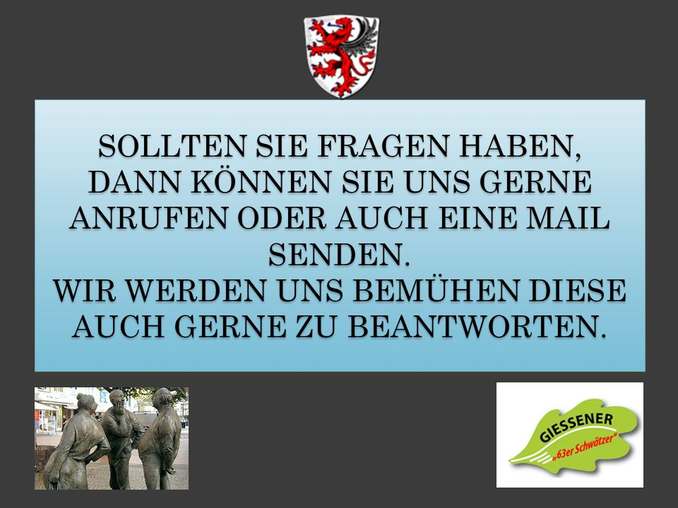 Uwe Rohn Vergnügungsausschuss rohn_gmbh@t-online.de Claus Talhoff Vergnügungsausschuss claus0612@freenet.de Dirk Müller Vergnügungsausschuss mueller05
