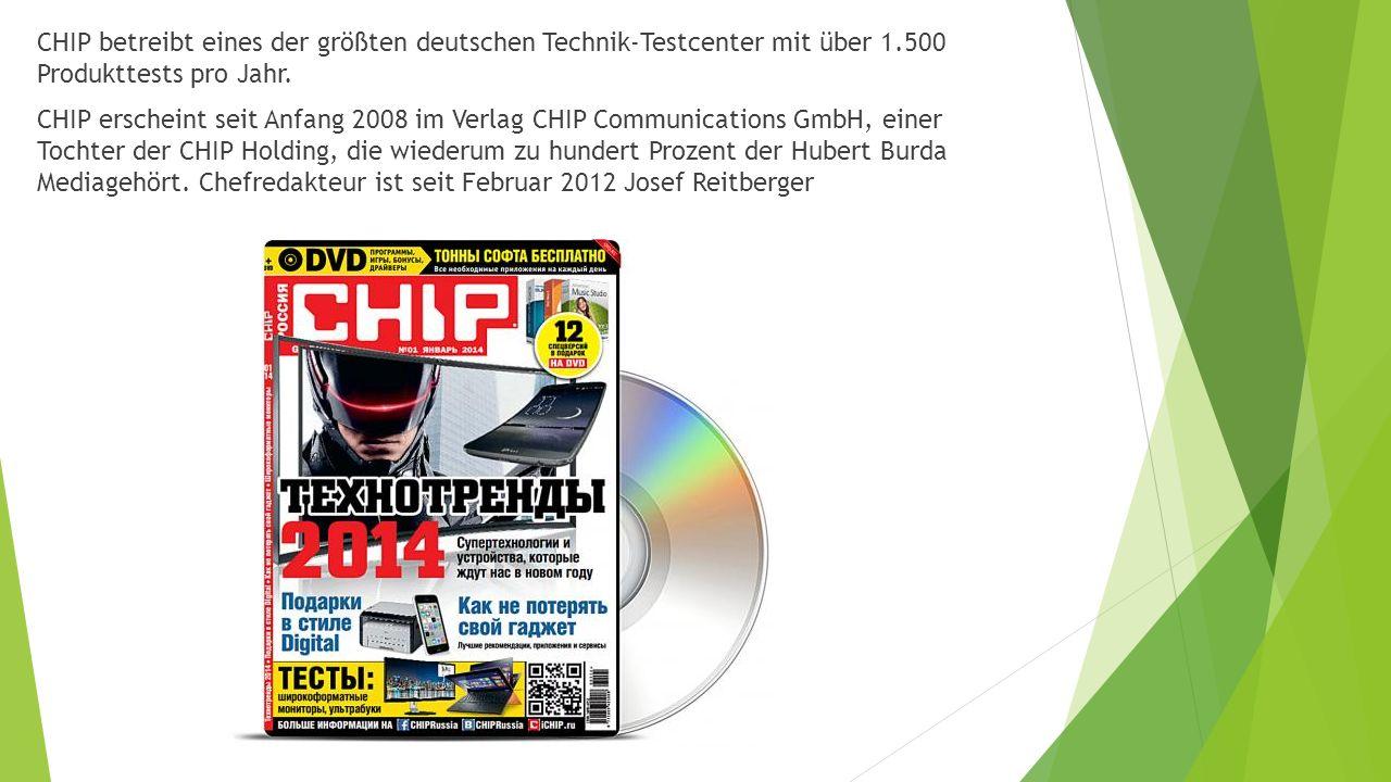 CHIP betreibt eines der größten deutschen Technik-Testcenter mit über 1.500 Produkttests pro Jahr.