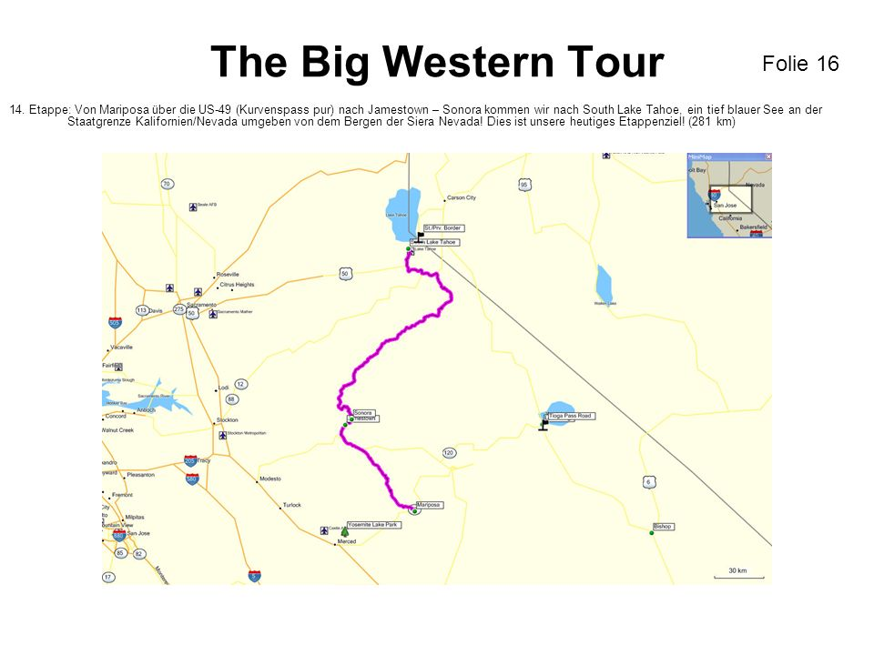 The Big Western Tour 14.