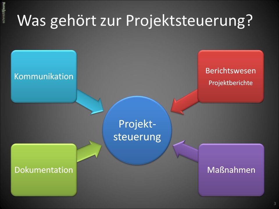 Was gehört zur Projektsteuerung 3