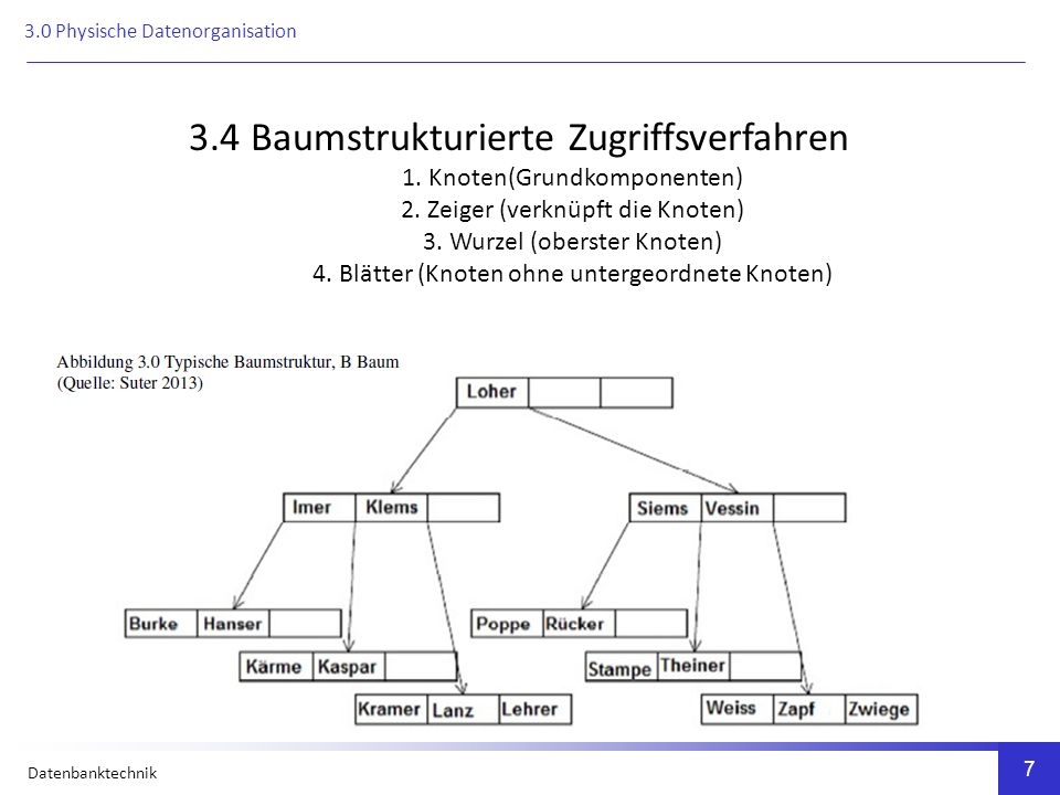 Datenbanktechnik 8