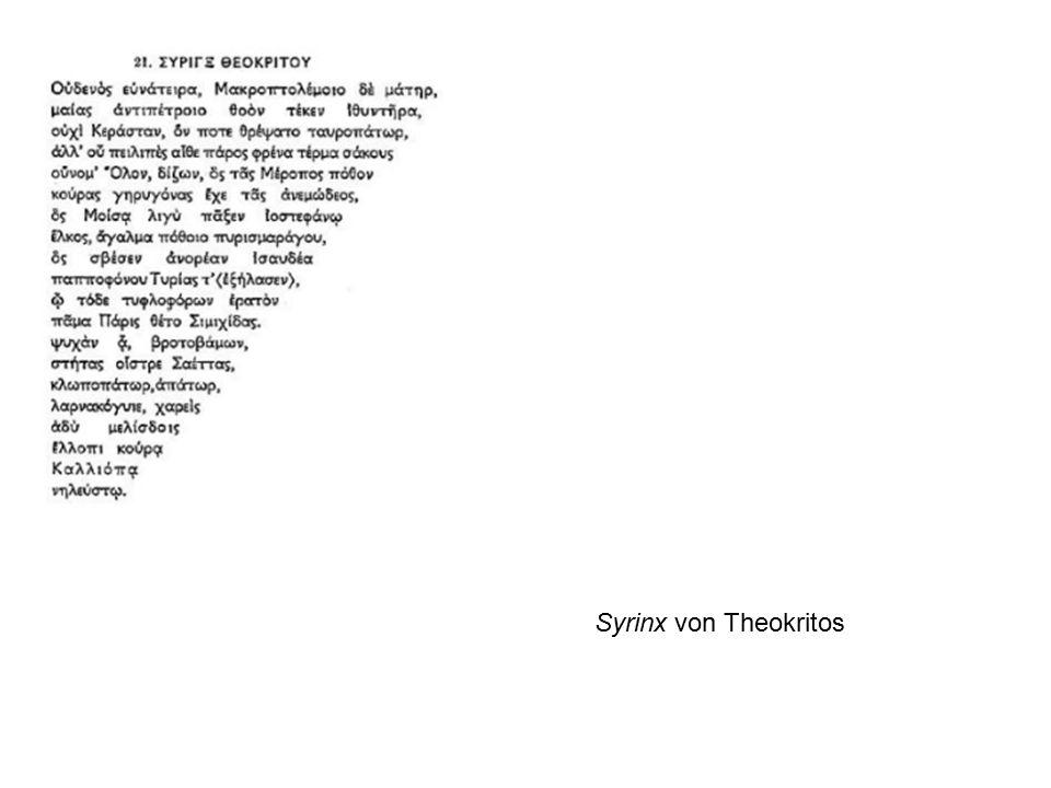 Syrinx von Theokritos