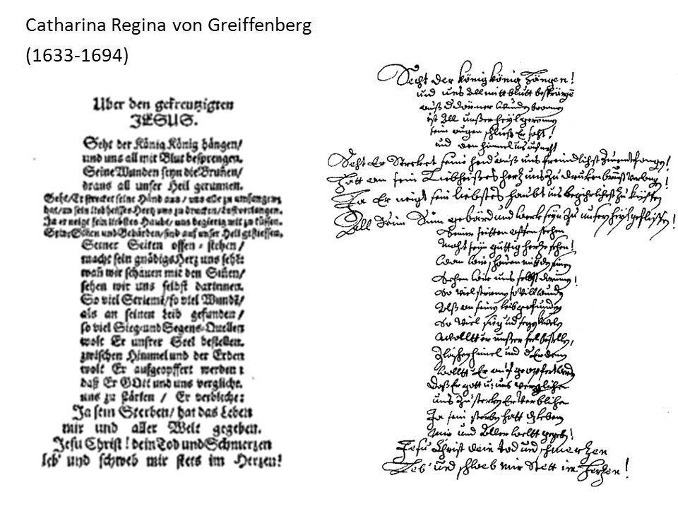 Catharina Regina von Greiffenberg (1633-1694)