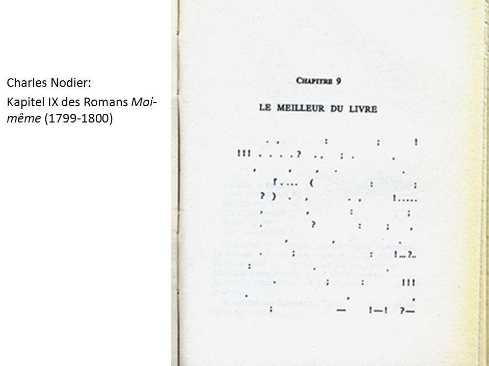 Charles Nodier: Kapitel IX des Romans Moi- même (1799-1800)