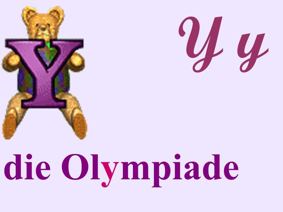 Y y die Olympiade