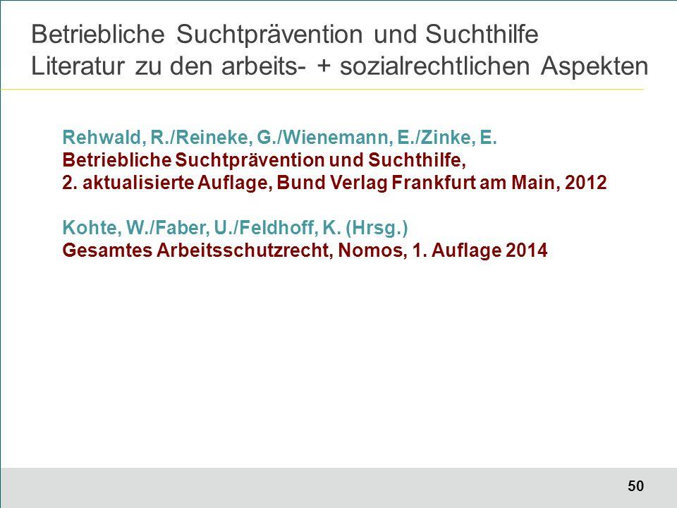 50 Rehwald, R./Reineke, G./Wienemann, E./Zinke, E.