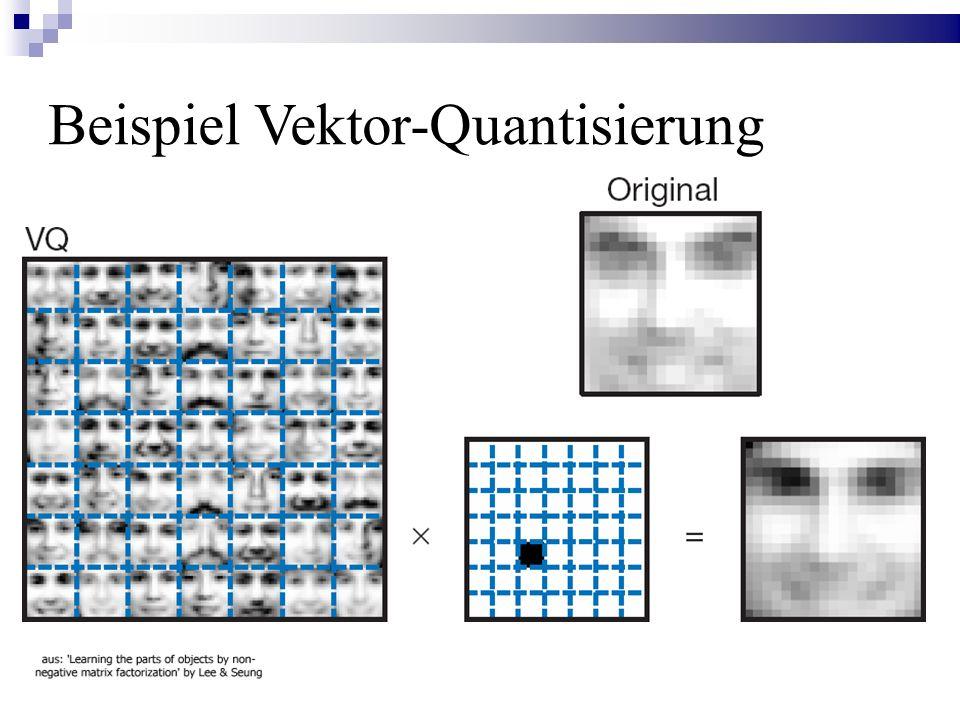Beispiel Vektor-Quantisierung