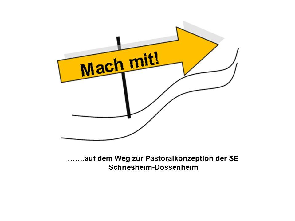 …….auf dem Weg zur Pastoralkonzeption der SE Schriesheim-Dossenheim