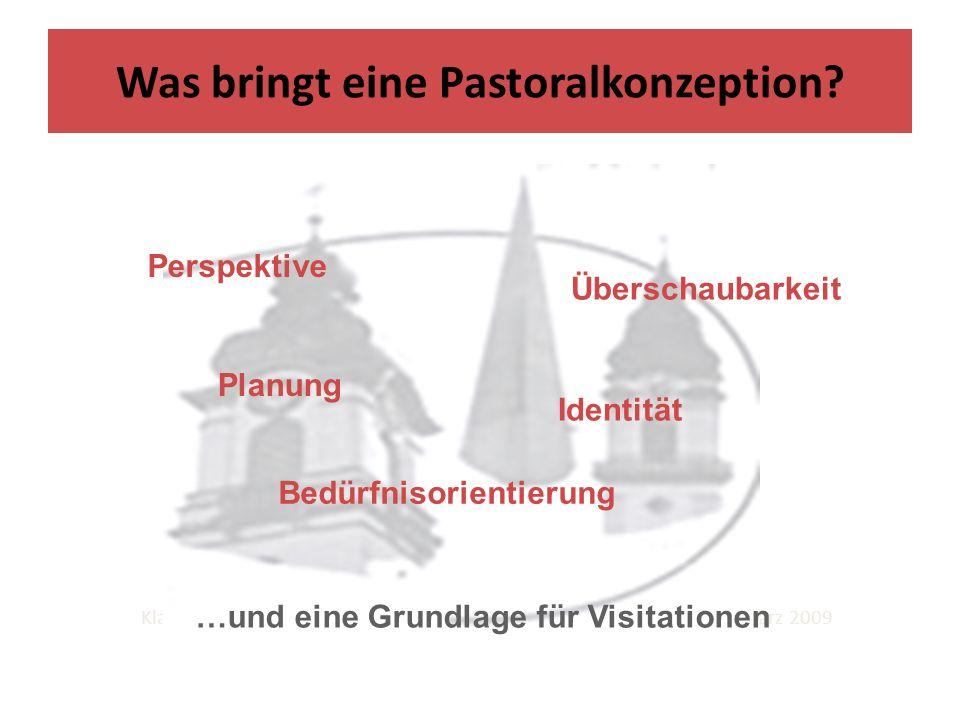 9 Beteiligung Profil Verbindlichkeit Klausurwochenende der Seelsorgeeinheit Heidelberg Nord - Speyer - März 2009 Was bringt eine Pastoralkonzeption.