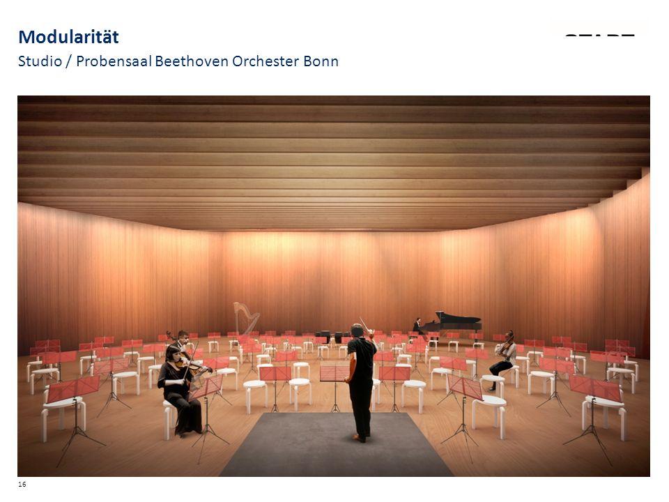 Studio / Probensaal Beethoven Orchester Bonn 16 Modularität
