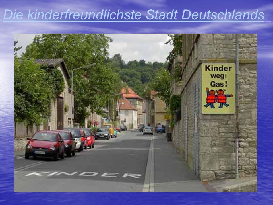 Die kinderfreundlichste Stadt Deutschlands