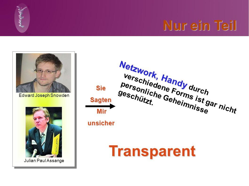 Nur ein Teil Julian Paul Assange Edward Joseph Snowden SieSagten Mir Mirunsicher Netzwork, Handy Netzwork, Handy durch verschiedene Forms ist gar nich