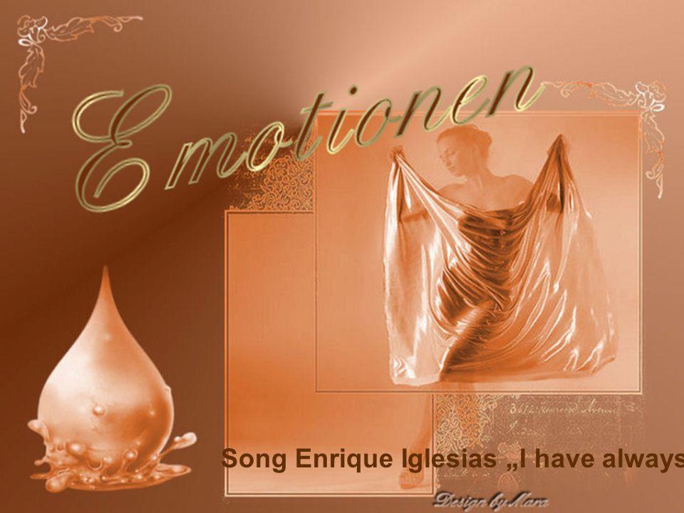 "Song Enrique Iglesias ""I have always love"