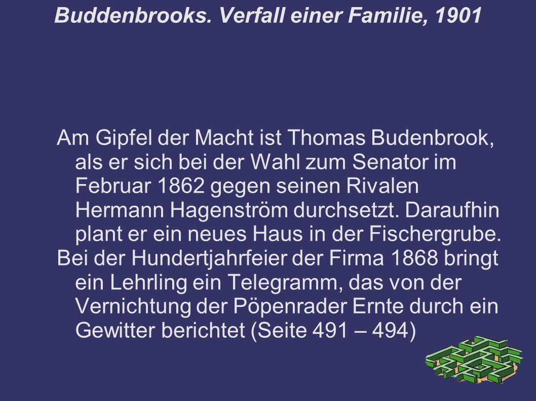 Buddenbrooks.